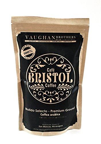 Premium Specialty Single Origin 100% Arabica Ground Coffee, Medium Roast, 12 oz. Shade Grown in Nicaragua (Premium Ground Arabica Coffee)