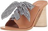 Dolce Vita Women's Amber Heeled Sandal, Caramel Leather, 8.5 M US