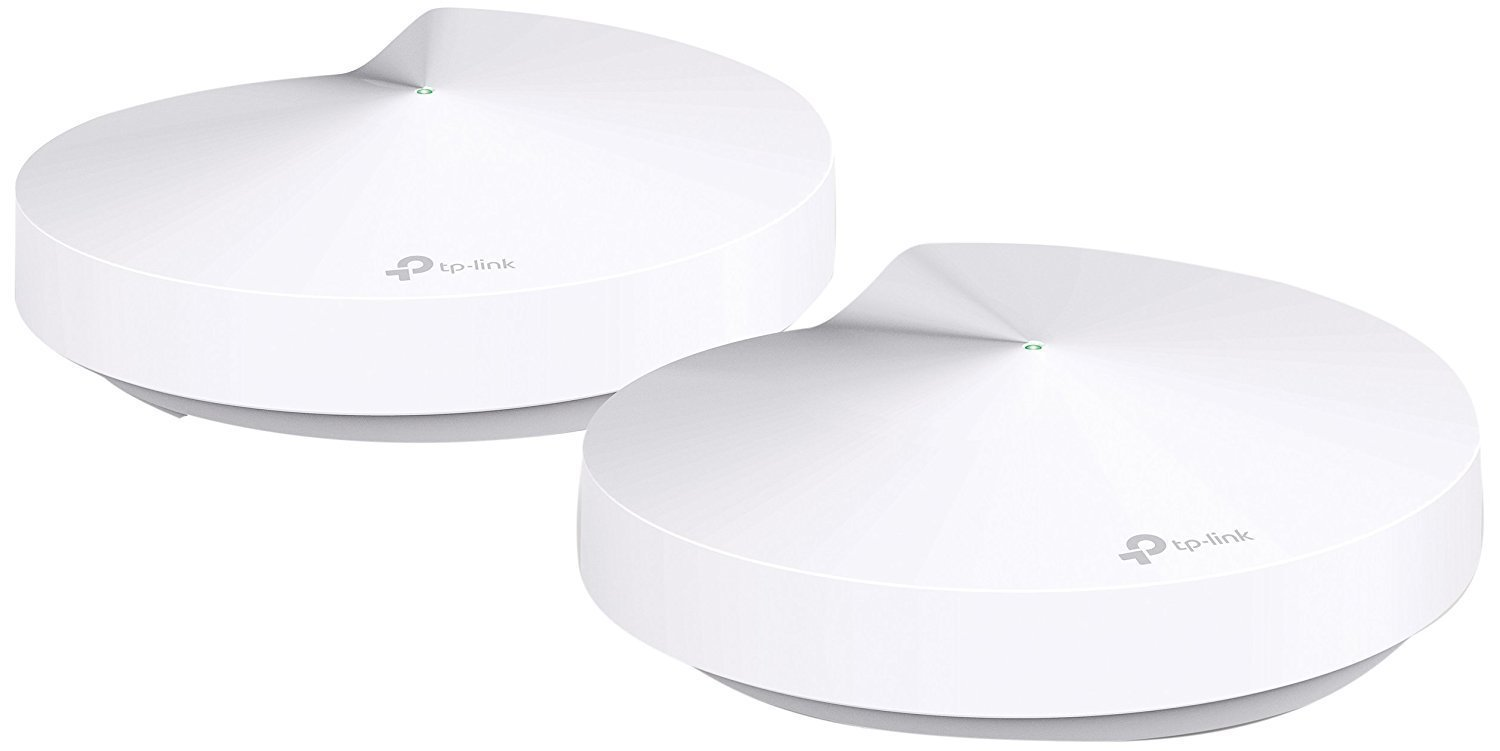 TP-Link Smart Hub & Whole Home WiFi Mesh System - PCMag Editor's Choice, ZigBee & Bluetooth Smart Hub, Homecare Support, Seamless Roaming, Tri-Band, Adaptive Routing, Works with Alexa (Deco M9 Plus) by TP-LINK