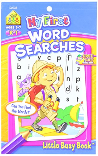 My First Little Busy Book-Word Search Grades - K1 Book