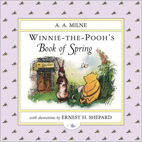 WTP/Pooh's Little Book of Spring (Winnie-the-Pooh) PDF
