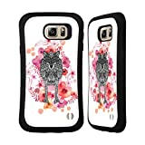 Official Monika Strigel Wolf Animals And Flowers 2 Hybrid Case for Samsung Galaxy Note5 / Note 5
