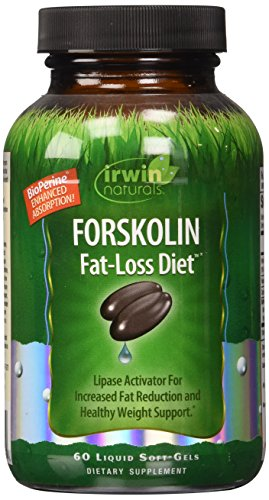 Irwin Naturals Forskolin Fat Loss Diet Supplement, 60 Count Cyclic Amp