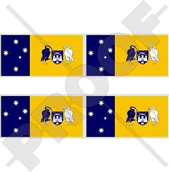 Australian capital territory canberra flag act australia 2 50mm vinyl bumper helmet