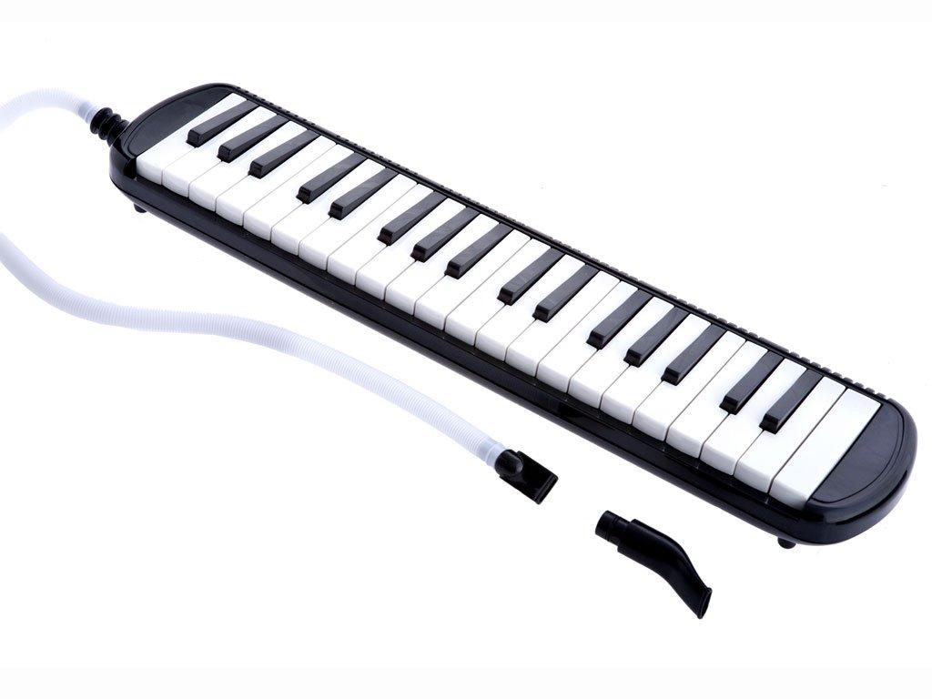 D'Luca M37-BK 37 Key Melodica with Case, Black