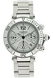 Cartier Men's W31089M7 Pasha Seatimer Chronograph Watch