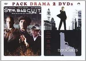 Seabiscuit + Los intocables de Eliot Ness [DVD]