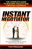 Instant Negotiator 9781930307001