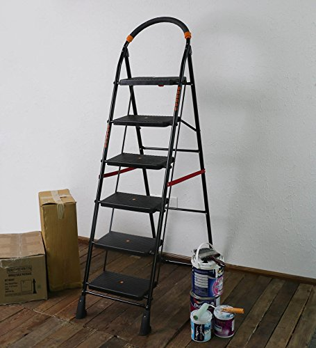 Parasnath-Back-Heavy-Folding-Ladder-with-Wide-Steps-Milano-6-Steps-62-Ft