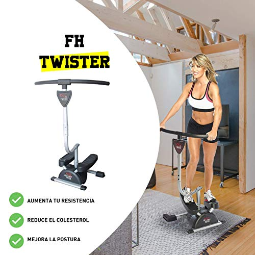 CloverFitness Twister Máquina de Step Swing Stepper para tonificar ...