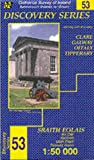 Front cover for the book Discovery Series 53: Clare, Galway, Offaly, Tipperary by Ordnance Survey Ireland