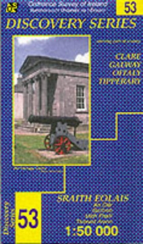 Discovery Series 53: Clare, Galway, Offaly, Tipperary