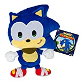 TOMY T22335 Sonic Boom Emoji Plush, Happy Sonic Plush