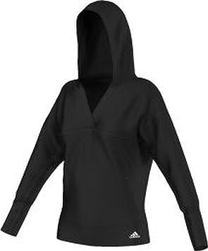adidas Yogi Cover Up Entrenamiento trainingshoodies Sudadera con Capucha, Mujer, Color Negro, tamaño XS: Amazon.es: Deportes y aire libre