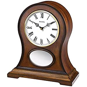Bulova Brookfield Mantel Clock Home Kitchen