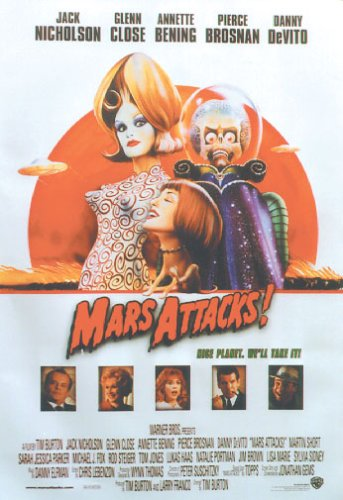 Mars Attacks! - Movie Poster (Size: 27'' x ()