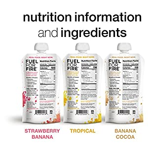 Fuel For Fire, Fruit + Whey Protein Snack, Sports Nutrition 4.5 ounce (Variety - Best Sellers, 12-Pack)