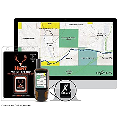 HUNT Michigan by onXmaps - Public/Private Land Ownership 24k Topo Maps for Garmin GPS Units (microSD/SD Card)