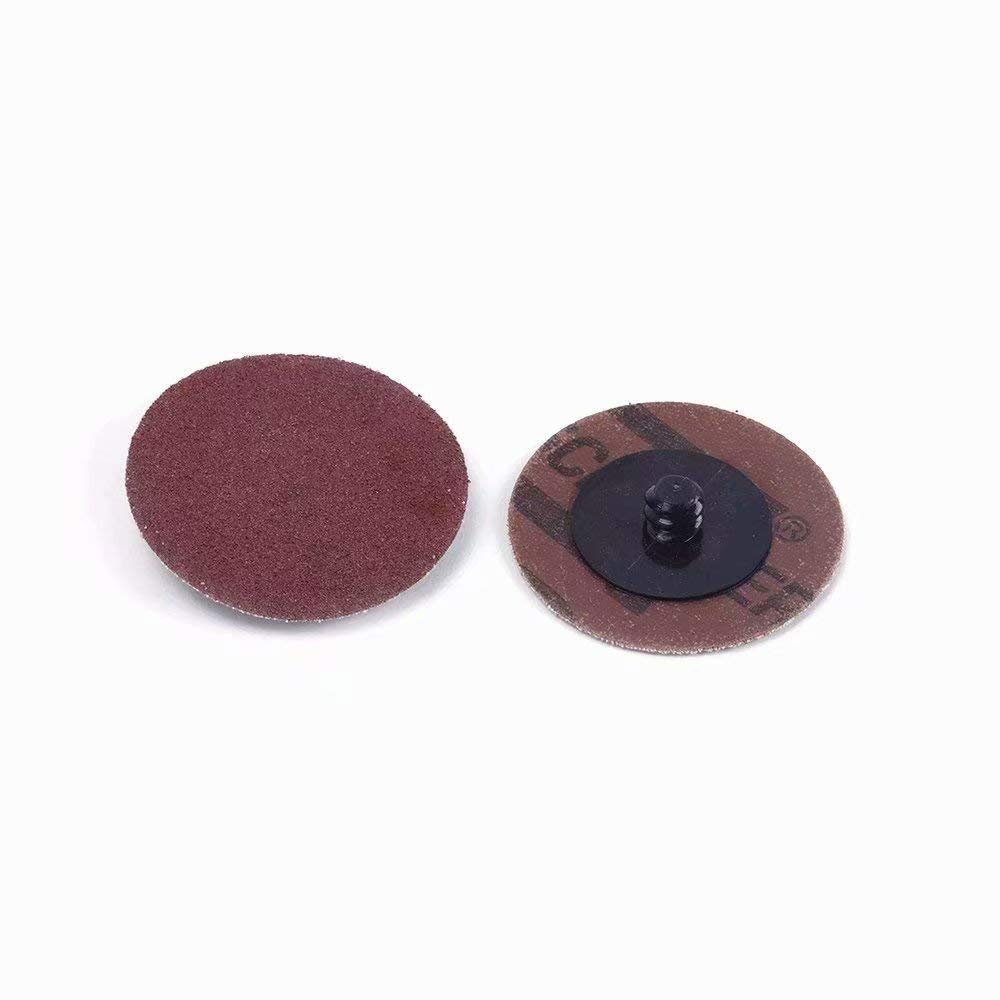 Bicycle Parts,Stainless Steel Polishing 2 Inch 320 Grit Roll Lock Sanding Discs Roloc Quick Change Discs Abrasives Tool for Motorcycles