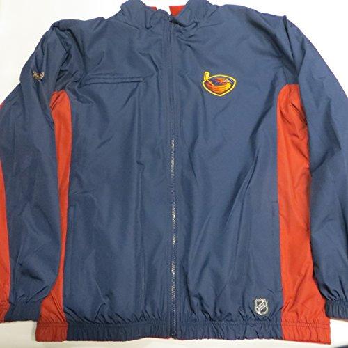 Atlanta Thrashers Mens X-Large Full Zip Reversible Embroidered Mid Weight Jacket AATT 2 XL