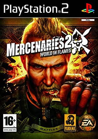 Mercenaries 2 world in flames ps2 amazon pc video games mercenaries 2 world in flames ps2 altavistaventures Choice Image