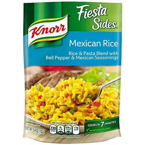 Rice Side Dishes (Knorr Fiesta Sides Rice Side Dish, Mexican Rice, 5.4 Ounce, (Pack of 8))
