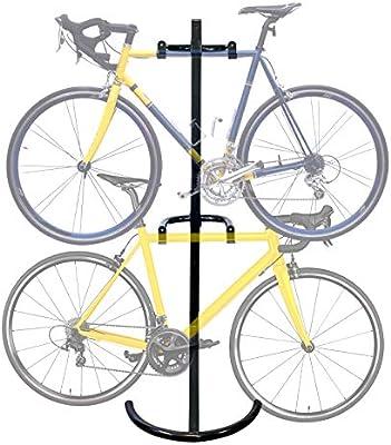 WilTec Soporte 2 Bicicletas hasta 90kg Sistema de Colgar con ...