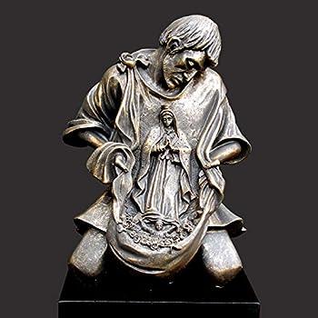 St. Juan Diego Christian Sculpture by Timothy Schmalz