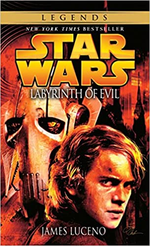 Amazon Com Labyrinth Of Evil Star Wars Episode Iii Prequel Novel 9780345475732 Luceno James Books