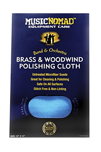 Music Nomad MN730 Brass and Woodwind Premium Microfiber Polishing Cloth