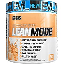 Evlution Nutrition Lean Mode Stimulant-Free Weight Loss Supplement with Garcinia Cambogia, CLA and Green Tea Leaf Extract, 30 Serving (Peach Tea)