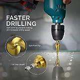 Neiko Spiral Step Drill Bits Variation
