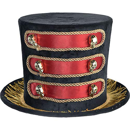Party City Showman Top Hat Halloween Costume Accessory