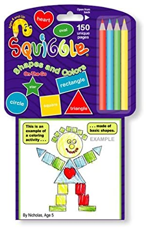 Squiggle Shapes and Colors by Random Line
