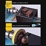 FOONEE DIY Portable Woodworking Mini Lathe Drill