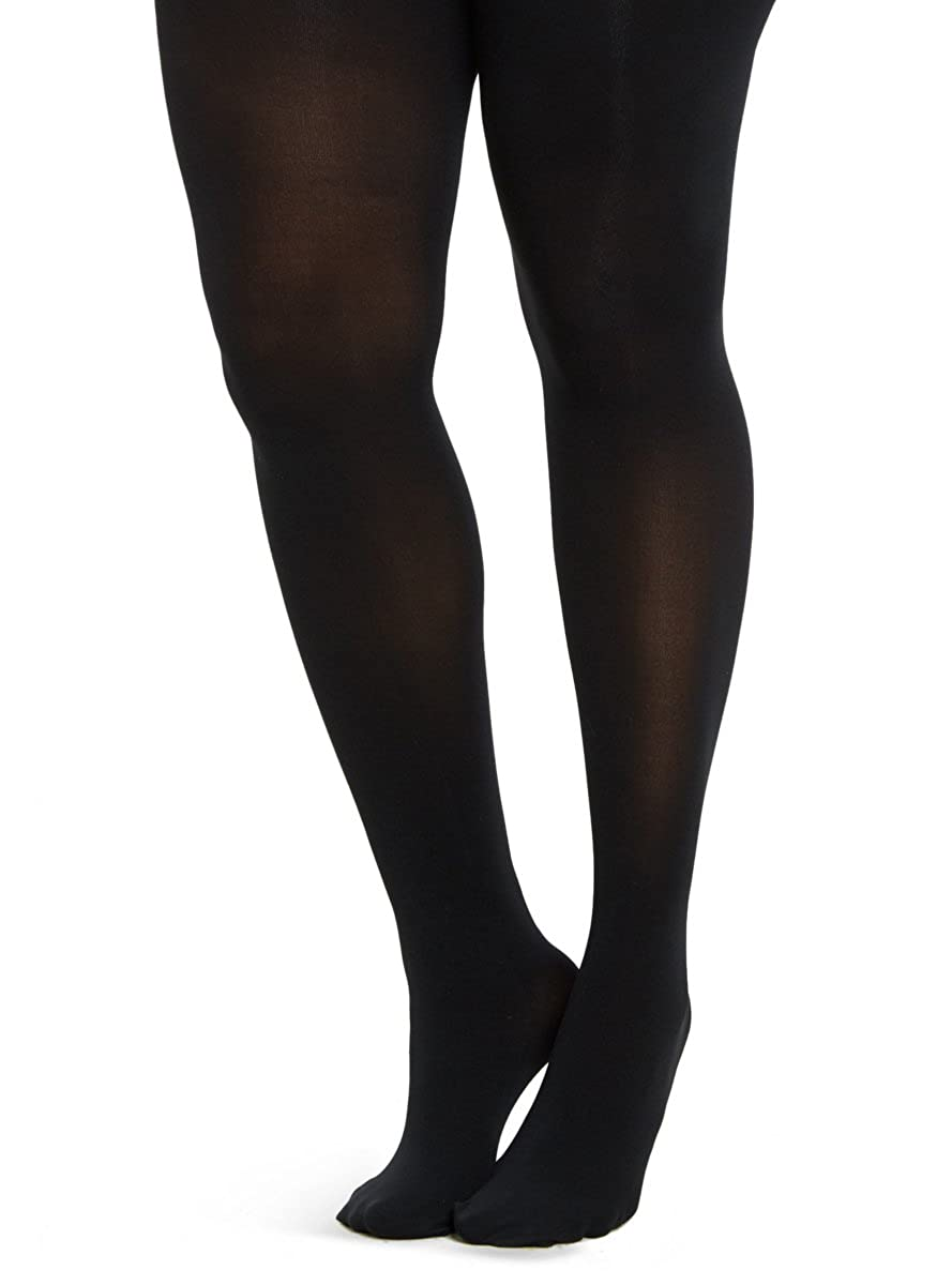 Microfiber Tights Black 5 / 6 Torrid 11095264