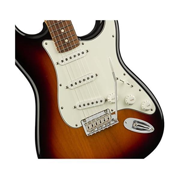 Fender Player Stratocaster, 3 Colour Sunburst, Pau Ferro