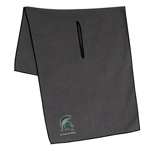 (Team Effort Michigan State Spartans Grey Microfiber Towel)