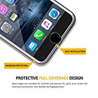 iPhone 8 Plus Screen Protector, iPhone 7 Plus Screen Protector, Benuo[Full Coverage]3D Touch Tempered Glass Protector,HD Clear,Bubble-Free, Anti-Scratch for Apple iPhone 8 Plus/7 Plus/ 6s Plus, 1 Pack from Benuo