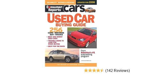 consumer reports used car buying guide consumer reports rh amazon com Consumers Auto Warehouse Auto Loan