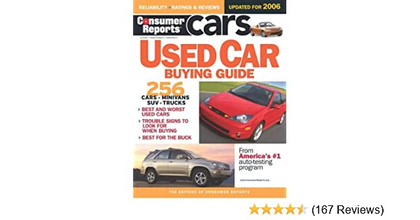 Consumer Reports Used Car Buying Guide Consumer Reports