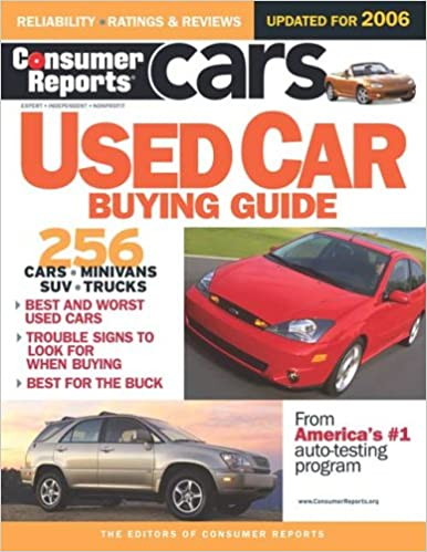11a978c2d2 Consumer Reports Used Car Buying Guide  Consumer Reports  9780975538869   Amazon.com  Books