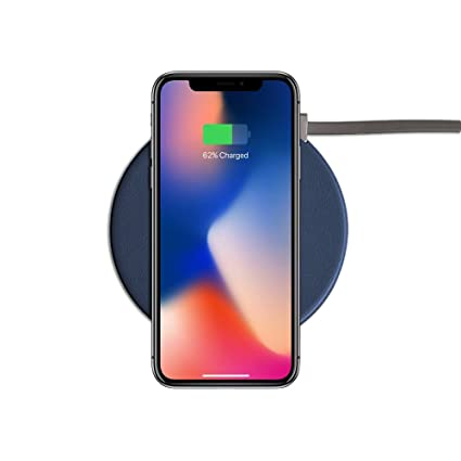 Noise QI Wireless Charging Pad  Dark Blue   GEN WC DRKBLU  Mobile Phone Induction Chargers