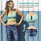 EEweca 2-Pack Clip for Fitbit Inspire or Inspire HR Holder Accessory, Black+Sangria