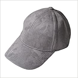 fba8db47511 Amazon.com  VANCOL Soft Faux Leather Suede Hat Baseball Cap (Dark Grey)  (0611714718770)  Books