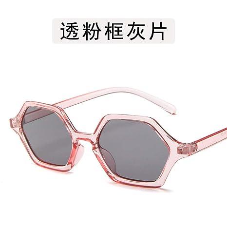 Yangjing-hl Gafas de Personalidad Gafas de Sol Irregulares ...