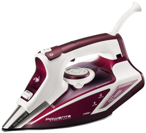 Rowenta DW9230 Ferro Vapore 2750-Watt Steam Iron, 220V (Non-USA Compliant) by Rowenta