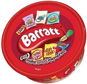 Barratt Sharing Tub of Retro Favourites - 750g