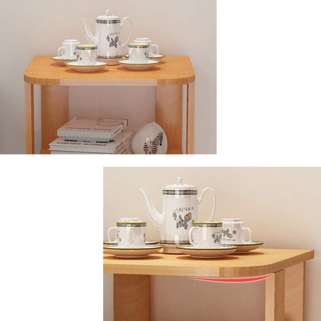 Colore: Bianco Caldo, Dimensioni: 40 * 40 * 51 Giow Comodino Divano Side File Cabinet Tavolino Scaffale per Armadio da Sala