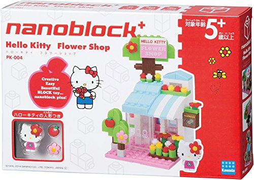 Nanoblock Plus Hello Kitty Flower Shop PK-004